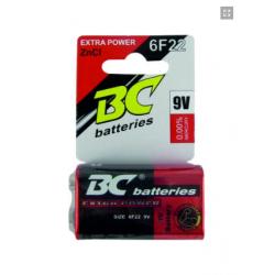 BATERIA ZnCL EXTRA POWER 9V...