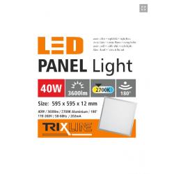 PANEL LED 60X60 40W 2700K...