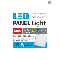 PANEL LED 60X60 60W 6500K...