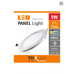 PANEL LED PODTYNKOWY 9W...